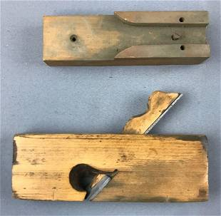 Vintage Wood Planer and more