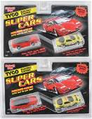 Group of 2 Tyco Magnum 440X2 Super Cars HO Slot Car 2