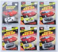 Group of 6 Tyco Magnum 440X2 Slot Cars in Original