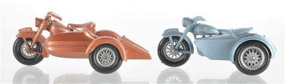Group of 2 Matchbox Die-Cast Motorcycles