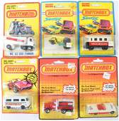 Group of 6 Matchbox Superfast DieCast Vehicles in