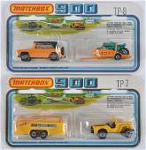 Group of 2 Matchbox 900 Die-Cast Vehicle Gift Sets
