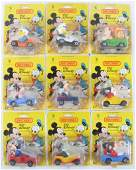 Group of 9 Matchbox Walt Disney DieCast Vehicles