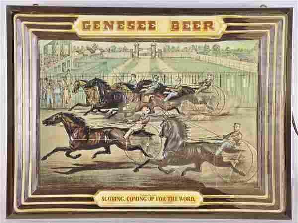 Vintage Genesee Beer Light Up Advertising Sign