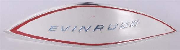 Vintage Evinrude Boat Motors Advertising Metal Sign