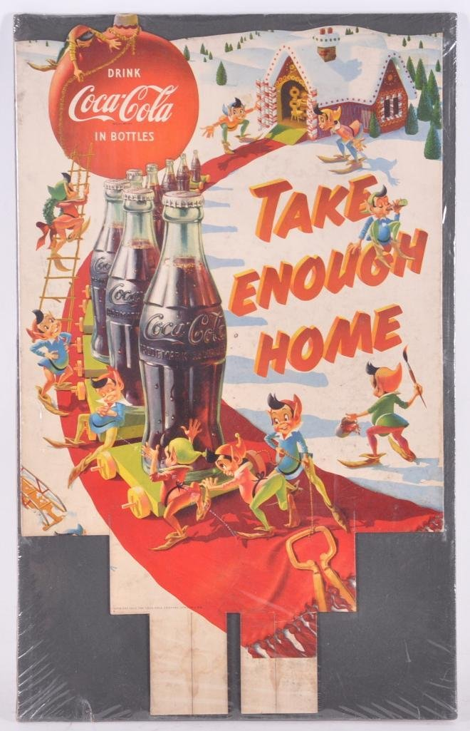 "Vintage Coca Cola ""Take Enough Home"" Advertising"