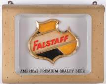 Vintage Falstaff Light Up Advertising Beer Sign