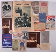 Group of Standard Oil Co Advertising Ephemera