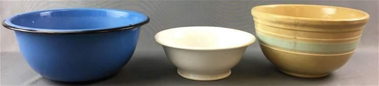 Group of 3 Mixing Bowls