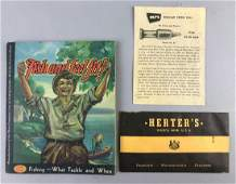 Group of 3 vintage hunting/fishing catalogue, brochure,