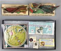 3 piece group vintage advertising items
