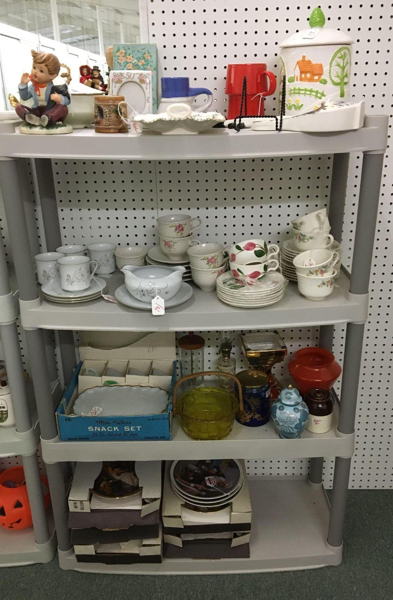 Group of 4 Shelf lots of Antique/Vintage Miscellaneous