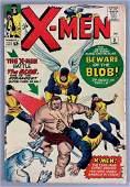 Marvel Comics XMen No 3 Comic Book