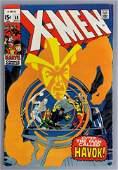Marvel Comics XMen No 58 Comic Book