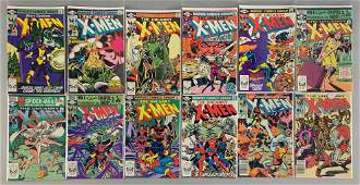 Group of 11 Marvel Comics X-Men Comic Books