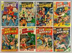 Group of 8 Marvel Comics SubMariner Comic Books