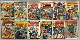 Group of 12 Marvel Comics Comic Books
