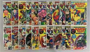 Group of 21 Marvel Comics Marvel Tales Comic Books