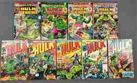 Group of 9 Marvel Comics Incredible Hulk Comic Books