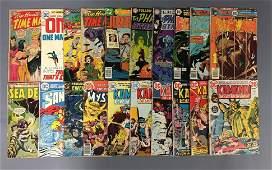 Group of 20 DC Comics Kamandi Comic Books and more
