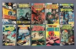 Group of 10 DC Comic Books