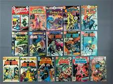 Group of 16 DC Comics Batman Comic Books