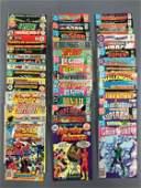 Group of 43 DC Comic Books