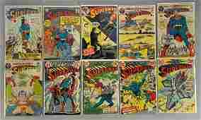Group of 10 DC Comics Superman Comic Books