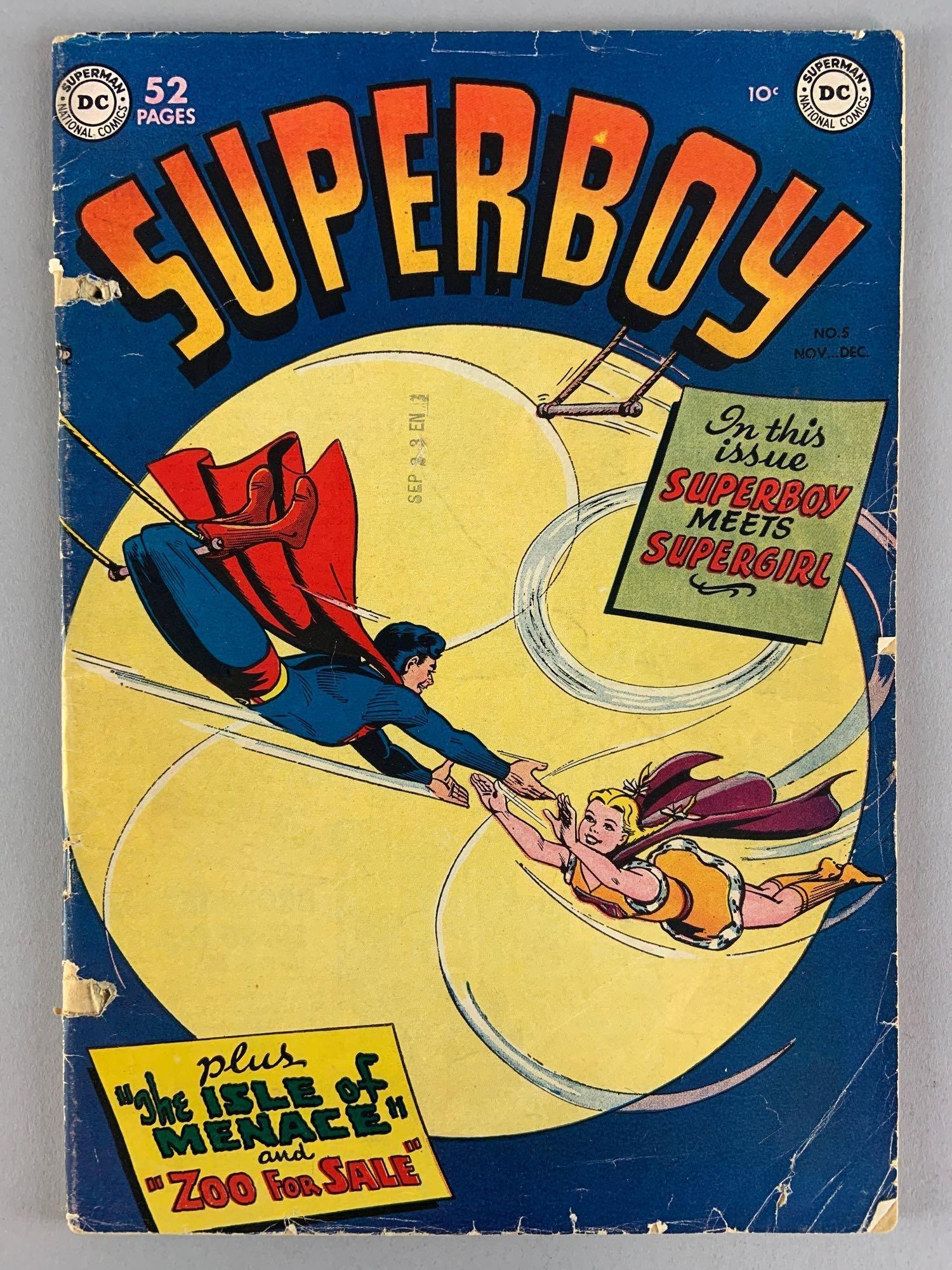 DC Comics Superboy No. 5 Comic Book