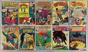 Group of 10 DC Comics Superboy Comic Books