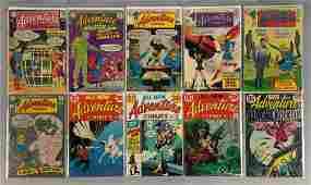 Group of 10 DC Comics Adventure Comics