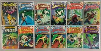 Group of 12 DC Comics Adventure Comics