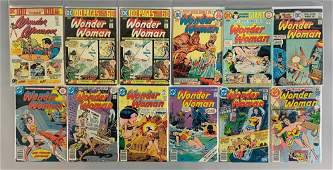 Group of 12 DC Comics Wonder Woman Comic Books