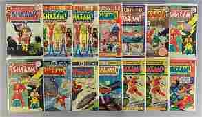 Group of 14 DC Comics Shazam Comic Books