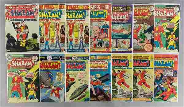 Group of 14 DC Comics Shazam! Comic Books