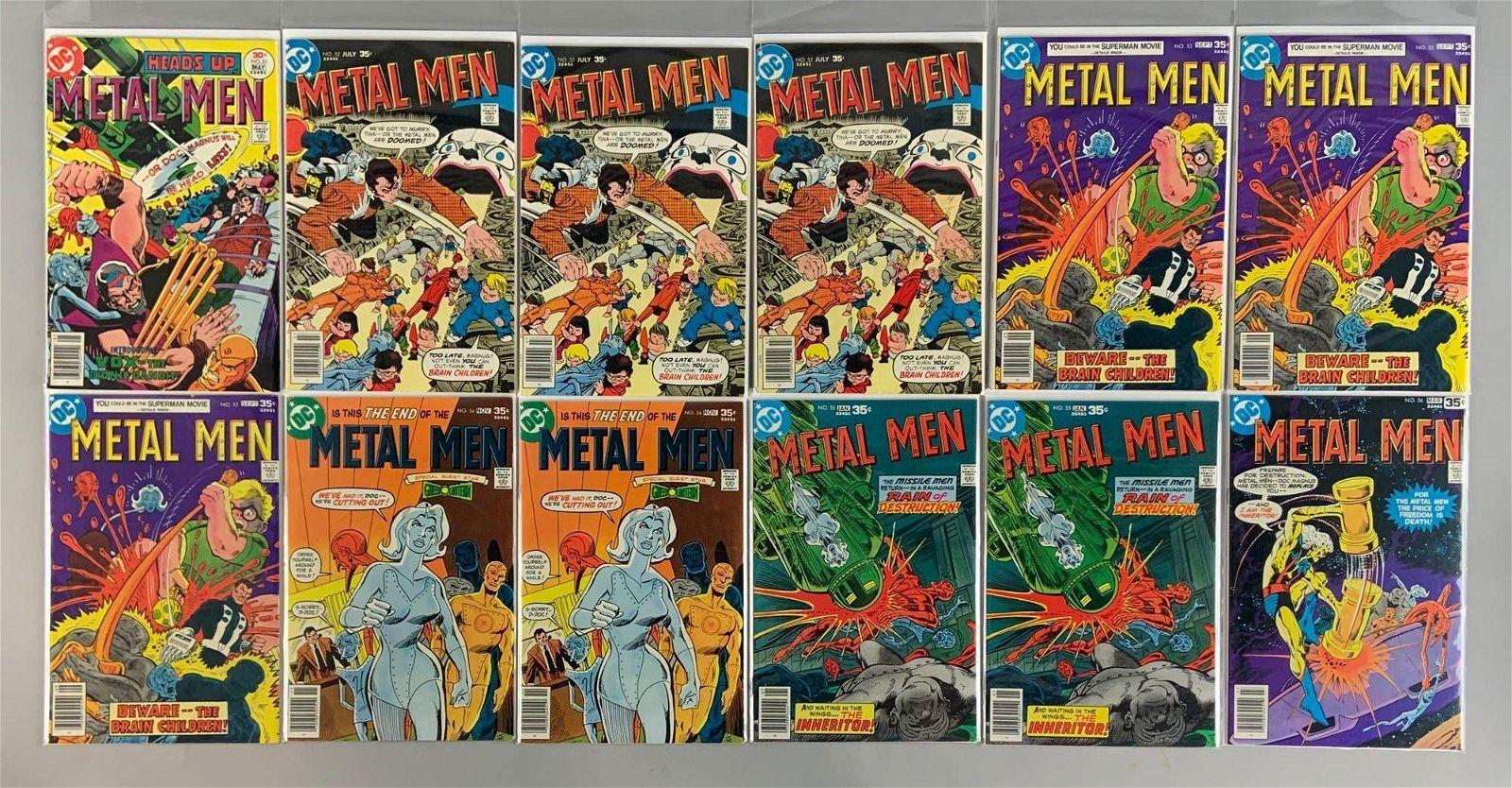 Group of 12 DC Comics Metal Men Comic Books