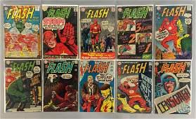 Group of 10 DC Comics The Flash Comic Books