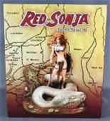 Red Sonja Statue