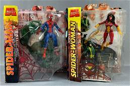 Group of two Marvel Select Action Figures