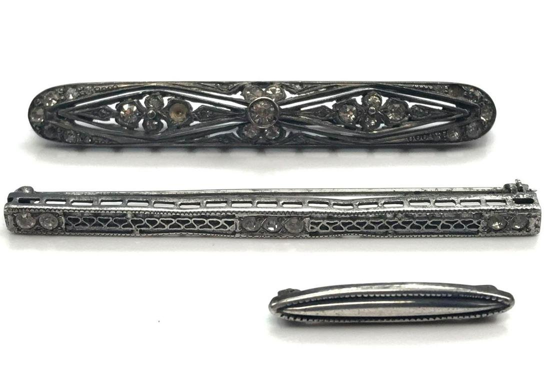 Collection of 3: Sterling Silver Edwardian Era/ Antique