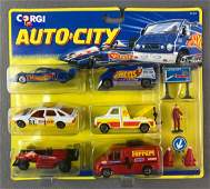 Corgi Auto City Die-Cast Vehicles Playset in Original