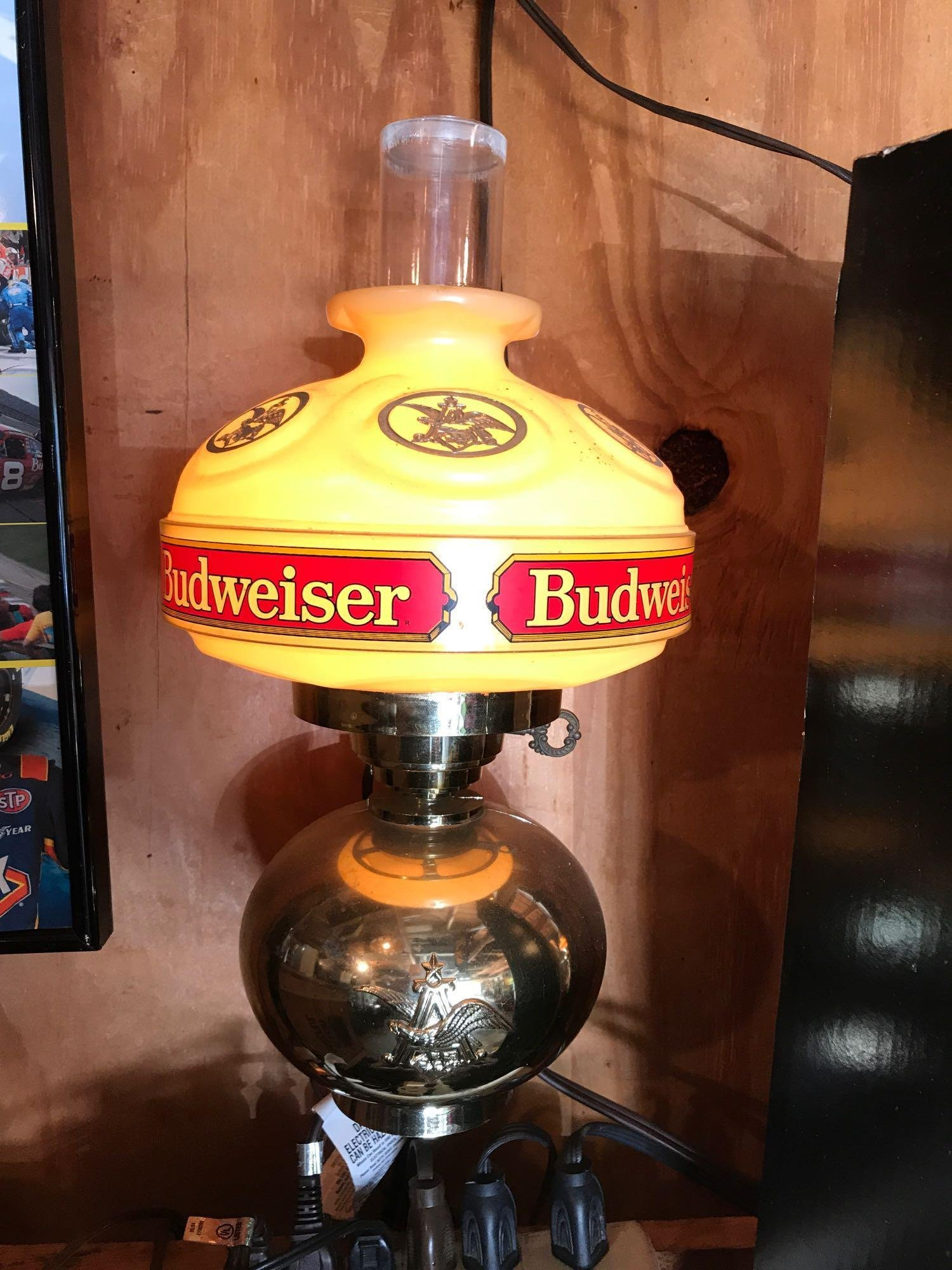 Pair of Vintage Budweiser Sconces