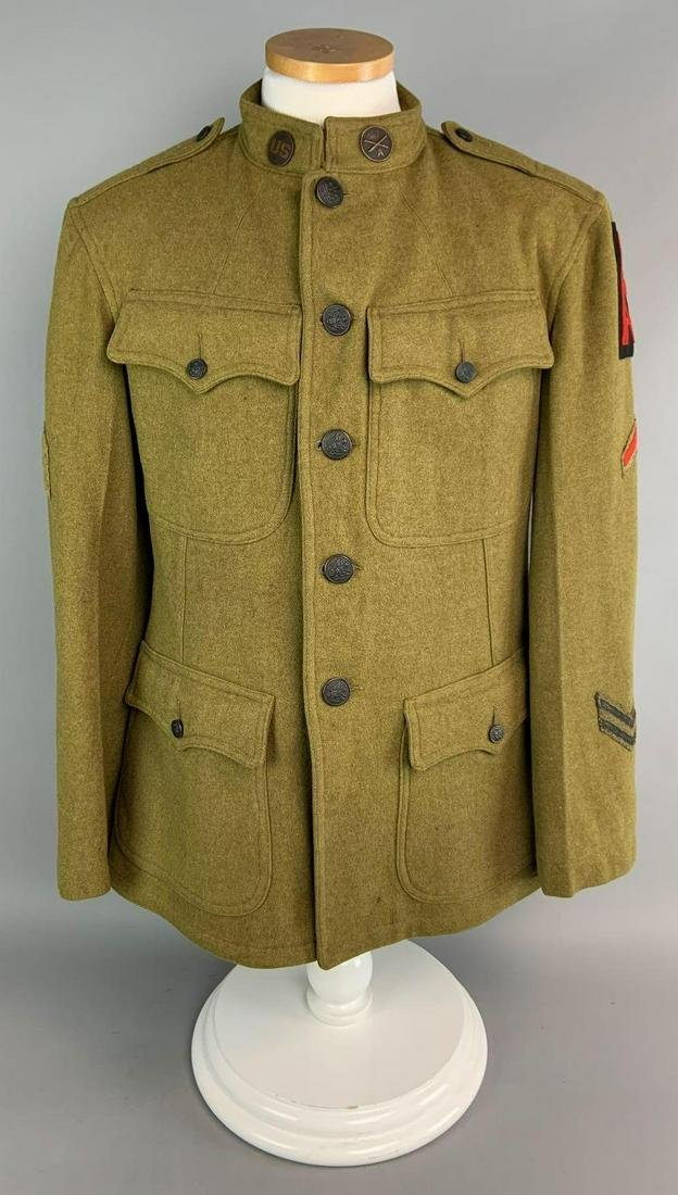 Scarce WW1 US First Army Anti Aircraft Artillery Tunic