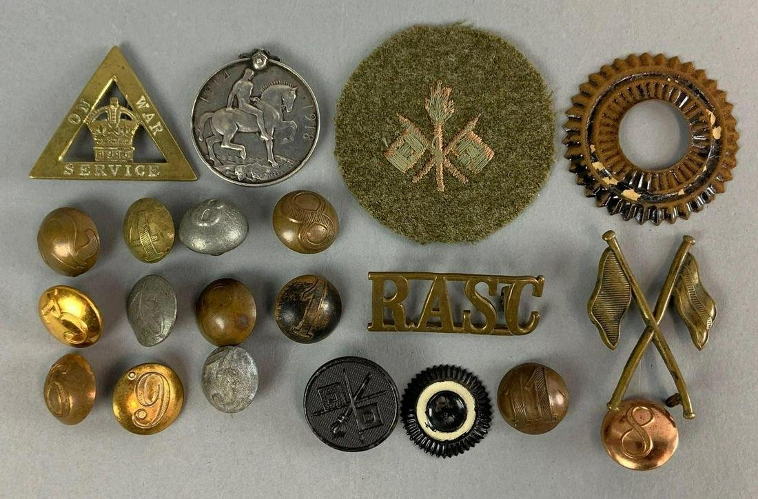 Group of WW1 Items