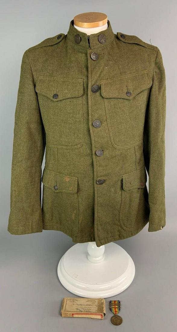 WW1 US 33rd Division Tunic