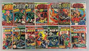 Group of 14 Marvel Comics Creatures on the Loose Comic