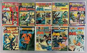 Group of 10 DC Comics The Brave and The Bold Comic