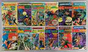 Group of 12 DC Comics The Brave and The Bold Comic