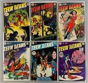 Group of 6 DC Comics Teen Titans Comic Books