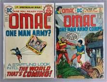 Group of 2 DC Comics OMAC One Man Army Corps Comic
